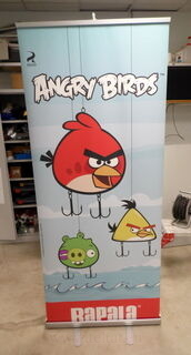 Roll up stend Angry Birds