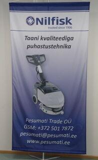 Banderolli lippuneuloksesta Pesumati