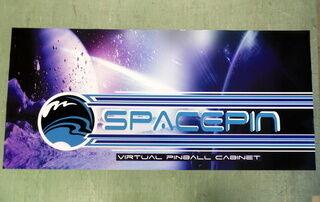 Mainostarra Spacepin