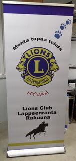 Roll up Exclusive Lions Club Lappeenranta Rakuuna