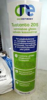 Pop-up ständi Neste Oil